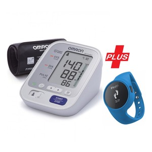Omron Blood Pressure Monitor M3 + iHealth Activity Tracker Edge