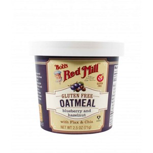 Bob's Red Mill Blueberry & Hazelnut Oatmeal Gluten Free 71g