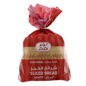 Lulu Sliced White Bread Large 315g