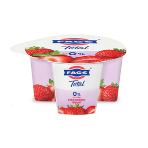 Fage Total 0% Fat Free Yoghurt With Strawberry 170g