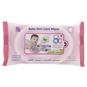 Mom Easy Baby Skin Care Wipes 40pcs