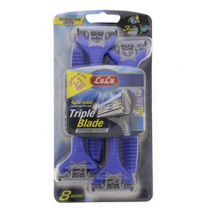 Lulu Triple Blade Disposable Razor 5 + 3