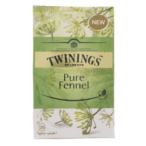 Twinings Pure Fennel Tea 20Pcs