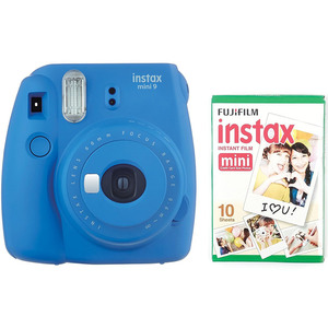 Fujifilm instax mini 9 Instant Camera Cobalt Blue + Film