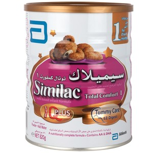 Similac Total Comfort No.1 Infant Formula For 1-6 Months 820g