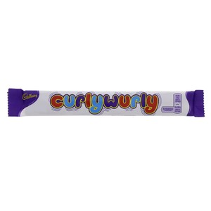 Cadburys Curlywurly Milk Chocolate with Caramel Centre 26g