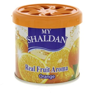 My Shaldan Air Freshener Real Fruit Aroma Orange 80 Gm