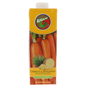 Rugani Carrot & Pineapple Juice Blend 750ml