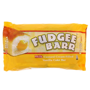 Fudgee Barr Milk Custard Cream Filling Vanilla Cake Bar 10 x 41g