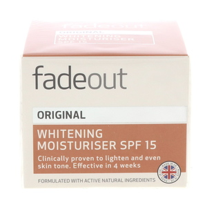 Fade Out Original Whitening Moisturiser SPF 15 50ml