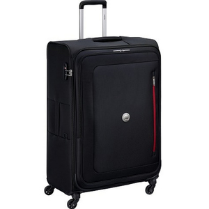 Delsey Oural 4 Wheel Soft Trolley 71cm Black
