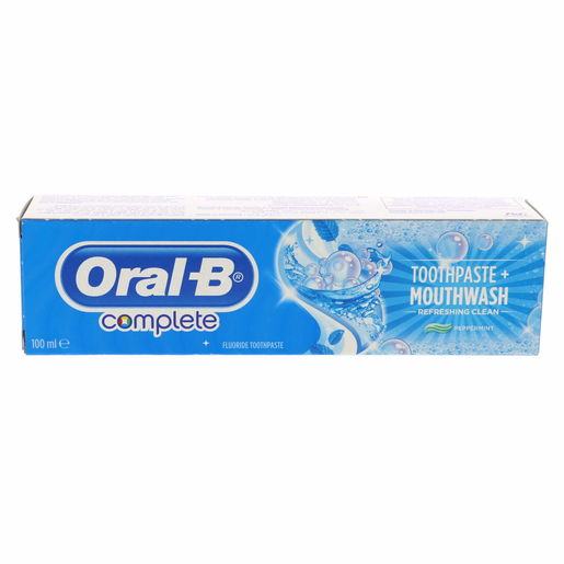 Buy Oral B Complete Toothpaste Peppermint 100ml - Tooth Paste - Lulu