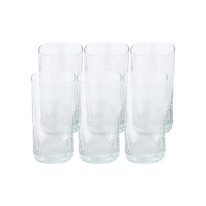 Crystal Drops Glass Tumbler 280ml 6pcs TNV047U