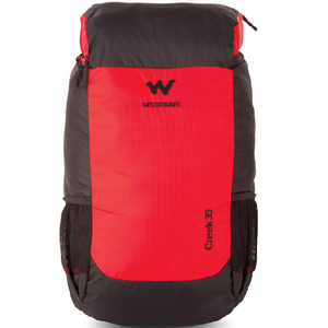 Wildcraft Camping Backpack Creek 35Ltr Red