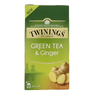 Twining's Green Tea And Ginger 25 Tea Bags