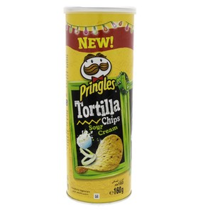 Pringles Tortilla Chips Sour Cream 160g