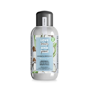 Love Beauty and Planet Blooming Care Coconut and Peppermint Oil-Pulling Mouthwash 250ml