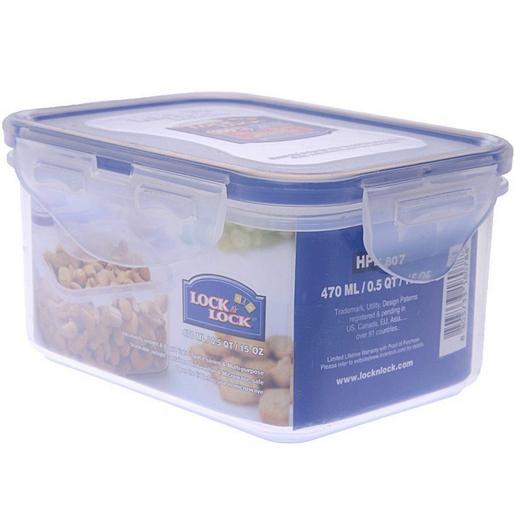 Buy Lock&Lock Food Container 807 470ml - Plastc Contanr/FSavr - Lulu
