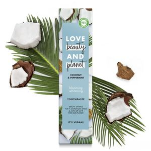 Love Beauty and Planet Blooming Whitening Coconut and Peppermint Toothpaste 75ml