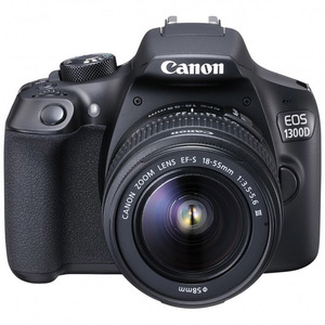 Canon DSLR Camera EOS1300D 18-55mm Lens Black