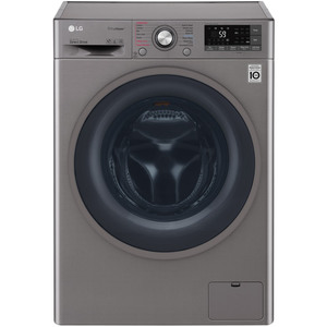 LG Front Load Washer & Dryer F4J7THP8S 8/5Kg
