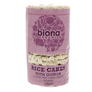 Biona Organic Rice Cake With Quinoa 100g