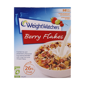 Weight Watchers Berry Flakes Cereals 450g