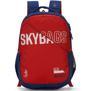 SkyBags School Back Pack Figo Extra SKBPFIGE3 Red 19inch