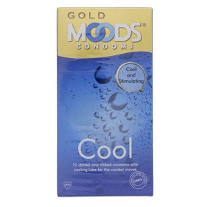 Moods Gold Condoms Cool 12pcs