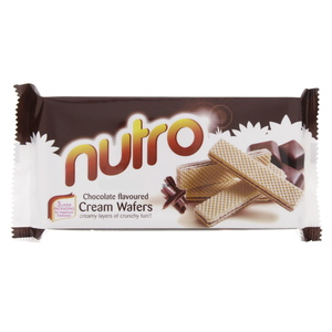 Nutro Chocolate Flavoured Cream Wafers 75g