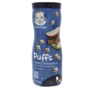 Gerber Puffs Cereal Snack Apple Cinnamon 42g