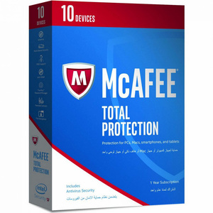 McAfee Total Protection 2017 10 Users