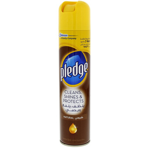Pledge Cleans, Shines & Protects Natural Furniture Spray 300ml