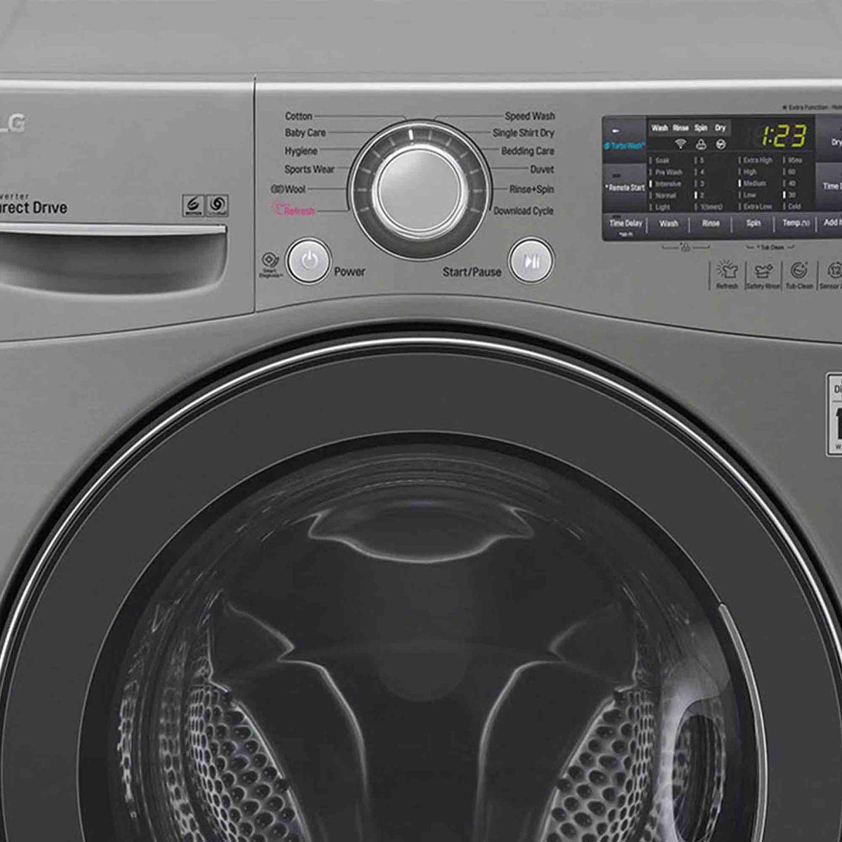 Buy LG Front Load Washer & Dryer F0K6DMK2S2 13/8Kg - Washer & Dryers
