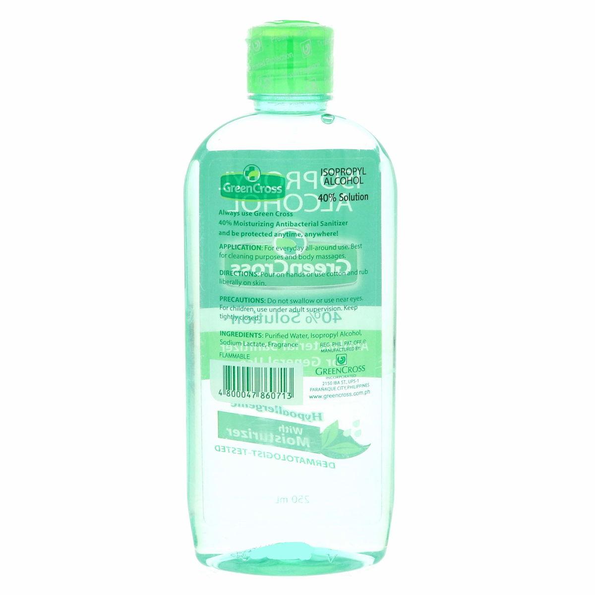 Green Cross Total Defense Antibacterial 5 In 1 Liquid Sanitizer