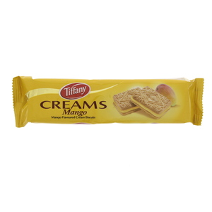 Tiffany Creams Mango Flavoured Cream Biscuit 90g