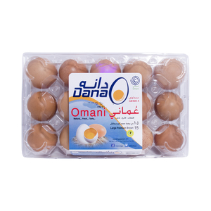 Al Dana Premium Brown Eggs Large 15pcs