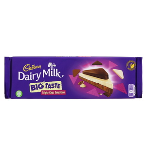 Cadbury Dairy Milk Big Taste Triple Choc Sensation 300g