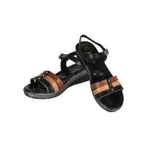 Von Wellx Women's Sandals 12001 Black
