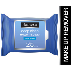 Neutrogena Makeup Remover Facial Wipes Deep Clean 25pcs