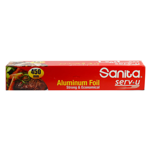 Sanita Aluminum Foil  Strong & Economical 450mm 1pc