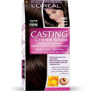 Loreal Casting Cream Gloss Brown 400 1 Packet