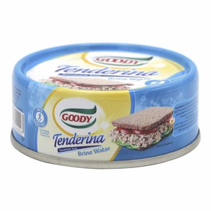 Goody Tenderina Sandwich Tuna Brine Water 80g