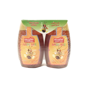 Nectaflor Andy Bee Honey Squeeze 2 x 250g