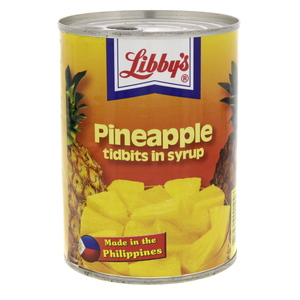 Libby's Pineapple Tibbits In Syrup 570g