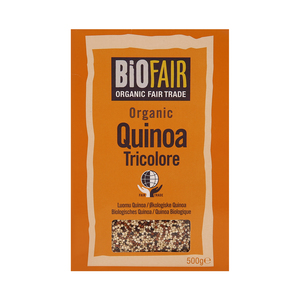 BioFair Organic Fair Trade Quinoa Tricolore 500g