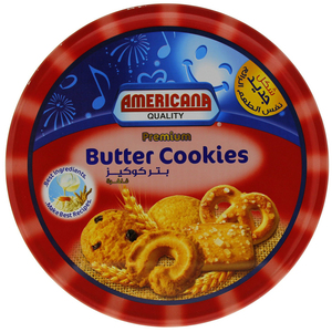 Americana Premium Butter Cookies Red 908g