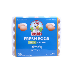 Koko Brown Eggs Large 30pcs