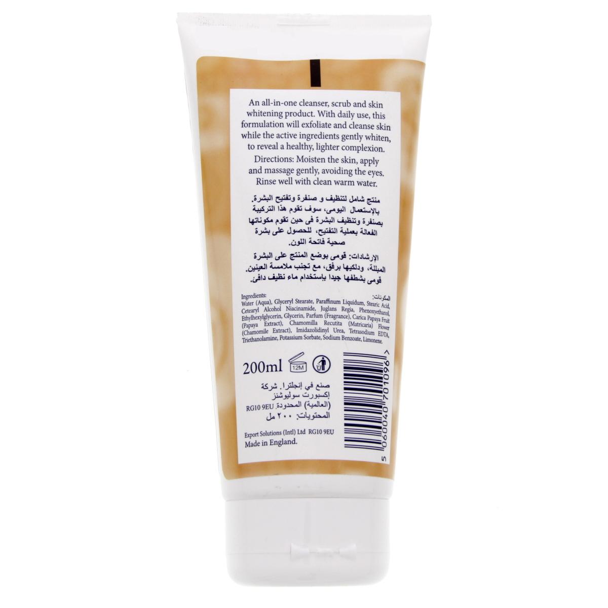Buy Bio Skincare Whitening Scrub Papaya 200 Ml - Facial