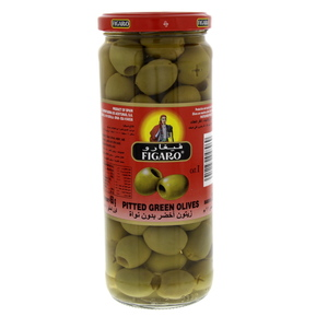 Figaro Pitted Green Olives 212g